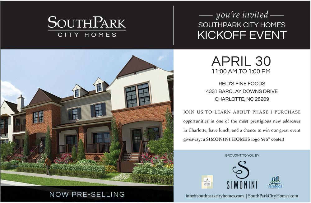 SouthPark City Homes